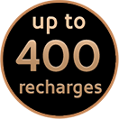 400 of recharges